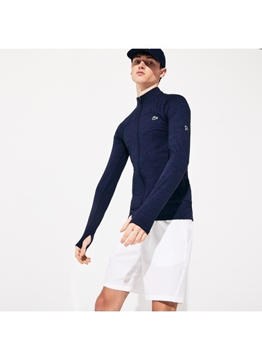 Lacoste Erkek Sport Sweatshirt SH4778.166 Lacivert